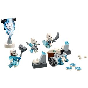 Lego 70230 - Legends of Chima: Eisbärstamm-Set