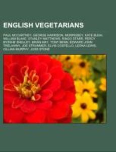 English vegetarians
