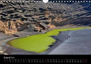 Lanzarote Beautiful Canary Island (Wall Calendar 2015 DIN A4 Lan