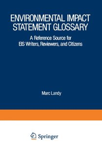 Environmental Impact Statement Glossary