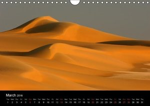 Beautiful Sahara (Wall Calendar 2016 DIN A4 Landscape)