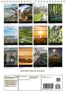 Great British Colourful Landscapes (Wall Calendar 2015 DIN A4 Po