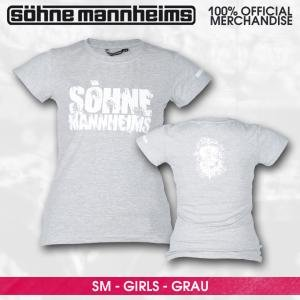 Söhne Mannheims/Grau,Girlie,S