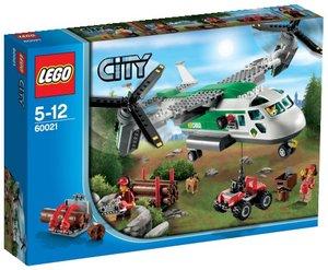 LEGO® City 60021 - Schwenkrotorflugzeug