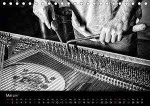 Klavierbau (Tischkalender 2017 DIN A5 quer)