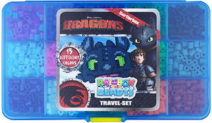 Craze Dreamworks Dragons Rainbow Beadys - Travel-Set