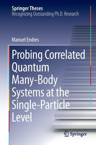 Probing Correlated Quantum Many-Body Systems at the Single-Parti
