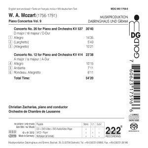 Klavierkonzerte Vol.9 (KV 414+537)