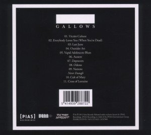 Gallows (CD+DVD)
