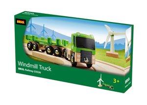 Brio 33526 - Windmühle mit Transporter