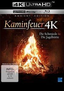 Kaminfeuer 4K - Die Schmiede & die Jagdhütte