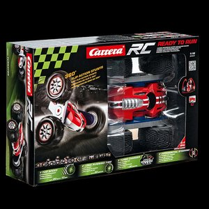 Carrera 162052 - RC Stunt Car Turnator, 360° Flip Action, Länge