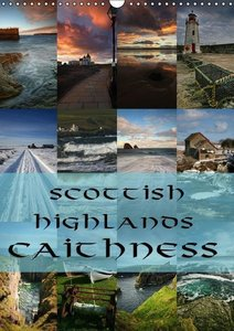 Scottish Highlands - Caithness / UK Version (Wall Calendar 2015