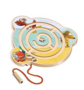 Der kleine Drache Kokosnuss - Magnet-Kugellabyrinth