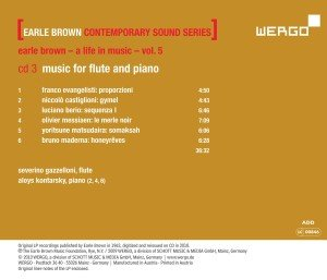 Earle Brown-A Life in Music-Vol.5