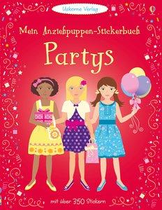 Mein Anziehpuppen-Stickerbuch: Partys