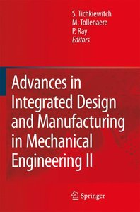 Advances in Integrated Design and Manufacturing in Mechanical En