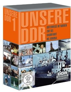 Unsere DDR - Box 1 (Unterwegs im Norden; Zur See; Raumfahrt; MS