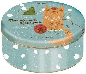 Adventskalender Tannenbaum und Katzenglück - Mit Samtpfoten durc