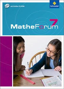 MatheForum 7. Schülerband mit CD-ROM. Niedersachsen