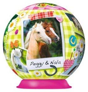 Alle meine Lieblingspferde. 3D Puzzle-Ball 108 Teile