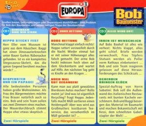 Bob, der Baumeister Box 04. Teambox. 3 CDs