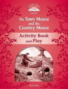 The Town Mouse and the Country Mouse Activity Book & Play