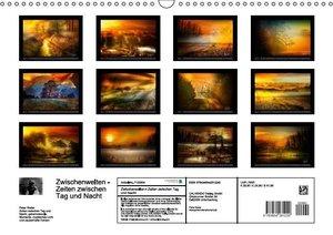 Zwischenwelten, Zeiten zwischen Tag und Nacht (Wandkalender 2016