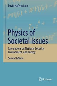 Physics of Societal Issues
