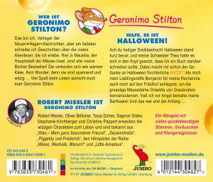 Geronimo Stilton: Hilfe,Es Ist Halloween!