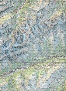 Swisstopo 1 : 100 000 Panixerpass