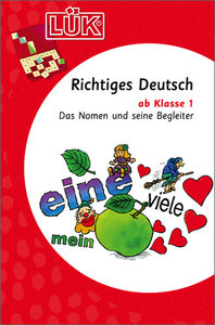LÜK. Richtiges Deutsch 1