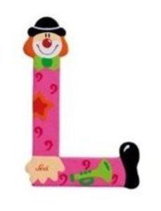 Sevi 81748 - Buchstabe: Clown L