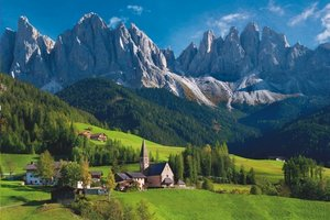 Schmidt 58200 - Puzzle St. Magdalena, Südtirol