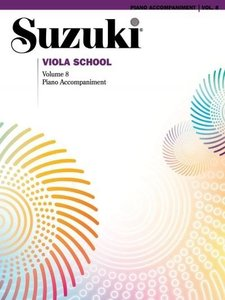 Suzuki Viola School Piano Accompaniment 8