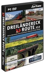 AddOn Trainsimulator 2016 Dreiländereck Route V 2.0