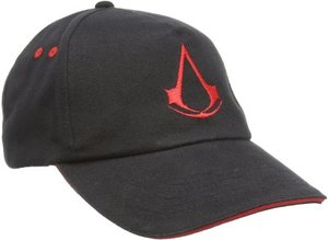 Assassins Creed Baseballkappe/Basecap - Crest, schwarz