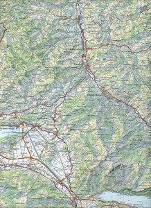 Swisstopo 1 : 100 000 Toggenburg