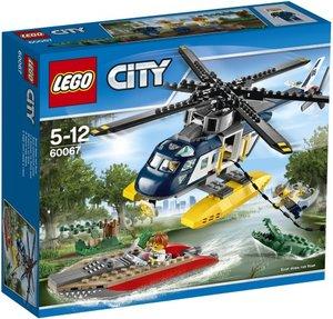 LEGO City 60067 - Verfolgungsjagd im Hubschrauber