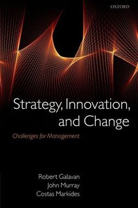 Galavan, R: Strategy, Innovation, and Change