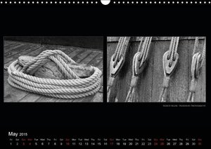 Contrasts - more than Black and White (Wall Calendar 2015 DIN A3