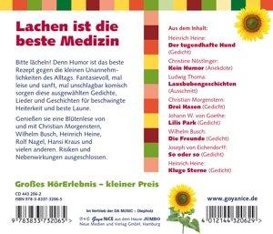 Lachen Ist Die Beste Medizin-Geschichten,Gedich