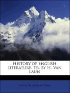 History of English Literature, Tr. by H. Van Laun