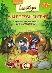 Lesetiger - Waldgeschichten. Großbuchstabenausgabe