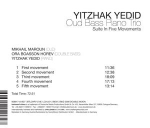 Oud Bass Piano Trio