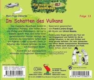 Das magische Baumhaus 13. Im Schatten des Vulkans. CD