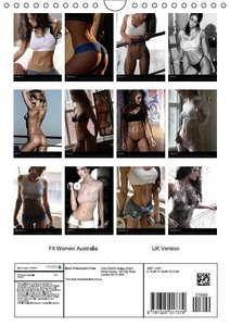 Fit Women Australia 2015 / UK Version (Wall Calendar 2015 DIN A4