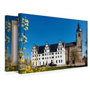 Premium Textil-Leinwand 45 cm x 30 cm quer Klosterkirche St. Mar