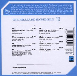 The Hilliard Ensemble