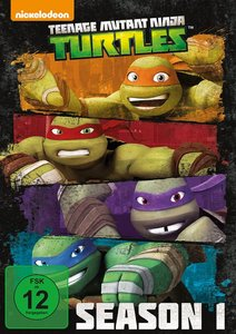 Teenage Mutant Ninja Turtles Staffel 01 / Amaray